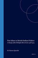 Pan Islam in British Indian Politics PDF
