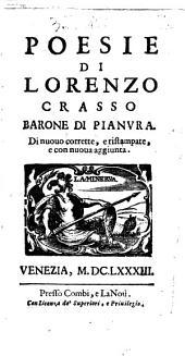Poesie di Lorenzo Crasso barone di Pianura