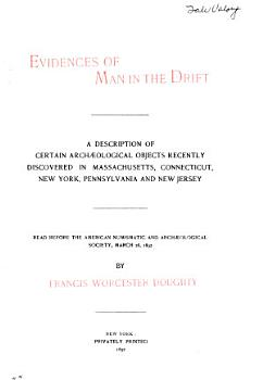 Evidences of Man in the Drift PDF
