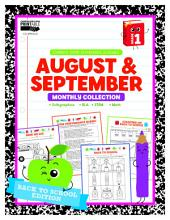 August & September Monthly Collection, Grade 1