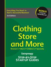 Clothing Store and More: Step-by-Step Startup Guide