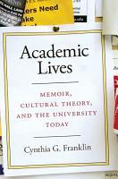 Academic Lives PDF
