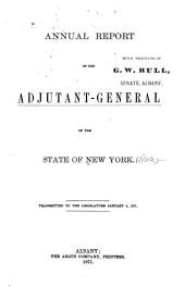 Annual report of the Adjutant-General