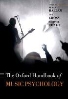 Oxford Handbook of Music Psychology PDF