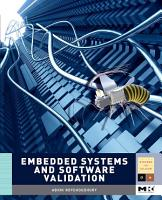Embedded Systems and Software Validation PDF