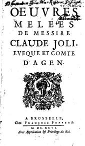 Oeuvres melées