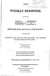 Niles' Weekly Register: Volume 8