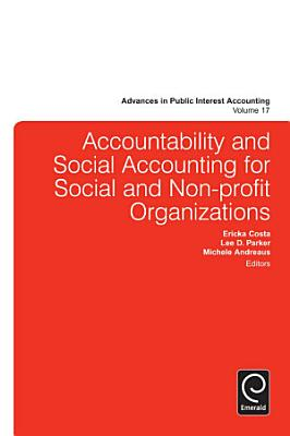 Accountability and Social Accounting for Social and Non profit Organizations