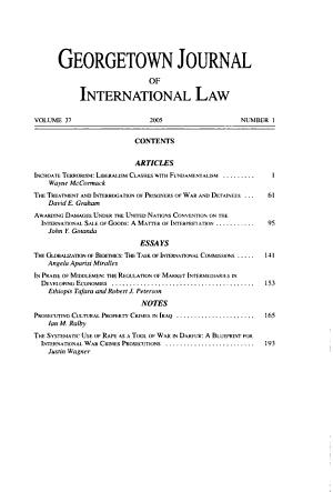 Georgetown journal of international law PDF