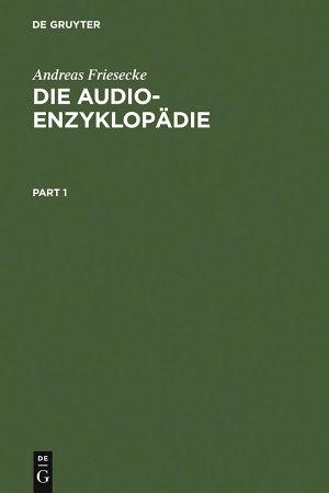 Die Audio Enzyklop  die PDF