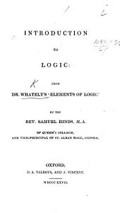 Introduction to Logic from Dr. W.'s 'Elements of Logic' by S. Hinds
