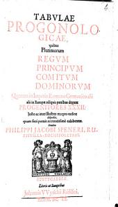 Tabulae progonologicae