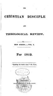 The Christian Disciple and Theological Review