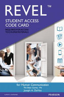 Human Communication Revel Access Code PDF