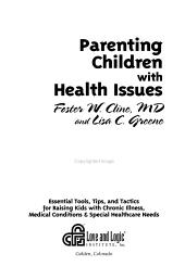 Parenting Children with Health Issues PDF