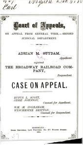 Court of Appeals, on Appeal from General Term,- Second Judicial Department.