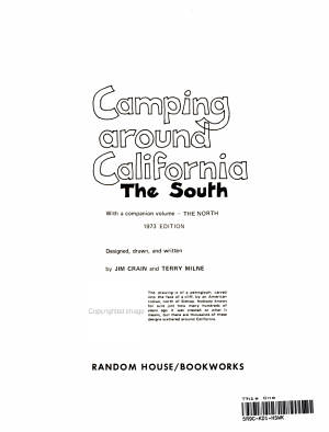 Camping Around California  the South PDF