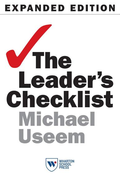 Download The Leader s Checklist  Expanded Edition Book