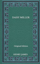 Daisy Miller   Original Edition PDF