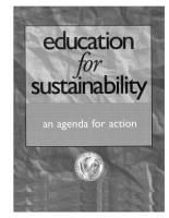 Education for Sustainability PDF