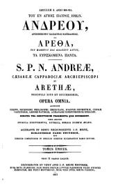 Patrologiae cursus completus. Series graeca: Volume 106