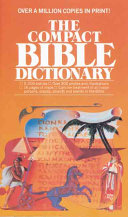 The Compact Bible Dictionary Book PDF