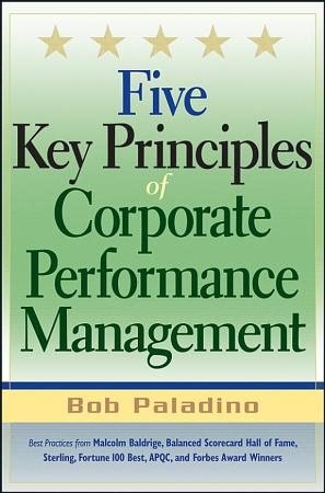 Five Key Principles of Corporate Performance Management PDF