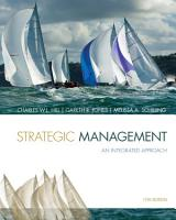 Strategic Management  Theory   Cases  An Integrated Approach PDF