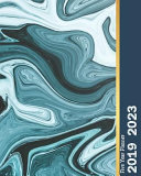 2019-2023 Five Year Planner: Blue Marble Cover, Monthly Schedule Organizer, 60 Months Calendar Planner Agenda with Holidays