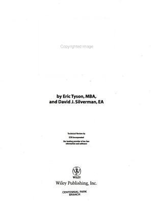 Taxes For Dummies PDF