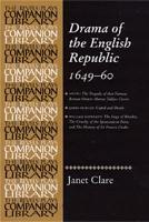 Drama of the English Republic  1649 60 PDF