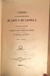 Cortes de los antiguos reinos de Leon y de Castilla: Volúmenes 1-2