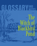 Glossary and Notes  The Witch of Blackbird Pond Book