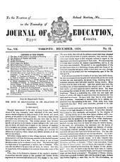 The Journal of Education for Ontario     PDF
