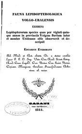 Fauna lepidopterologica volga-uralensis
