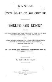 WORLD'S FAIR REPORT 1893