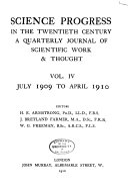 Science Progress in the Twentieth Century