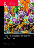 The Routledge Handbook of Festivals PDF