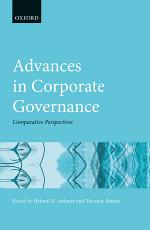 Advances in Corporate Governance