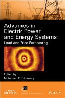 Advances in Electric Power and Energy Systems PDF