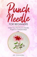 Punch Needle for Beginners