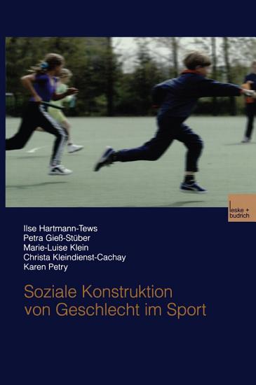 Soziale Konstruktion von Geschlecht im Sport PDF