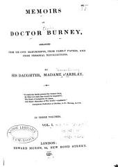 Memoirs of Doctor Burney