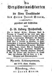 Die Vergißmeinnichtarten für die Flora Deutschlands des Herrn Jacob Sturm