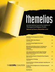 Themelios  Volume 43  Issue 3 PDF