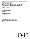 Dictionary of American Regional English  I O