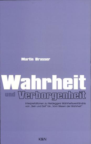 Wahrheit und Verborgenheit PDF