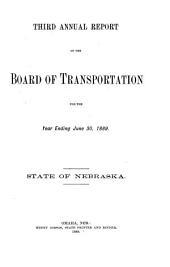 Annual Report: Volume 3