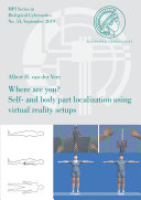 Where are you? Self- and body part localization using virtual reality setups
