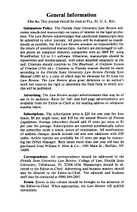 Florida State University Law Review PDF